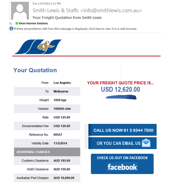 Shipping Quote Fair How To Use An Online Freight And Customs Clearance Calculator